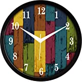 RAG28 12 Inches Plastic Designer Wall Clock