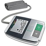 Medisana MTS Bloeddrukmeter Bovenarm met Aritmieweergave, Kleurenschaal voor wie Verkeerslicht, Geheugenfunctie en Gemakkelij