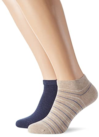 b39ea0750245d4 Tommy Hilfiger Herren Füßlinge & Sneakersocken Th Men Washed Stripe ...