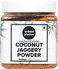 Urban Platter Organic Coconut Jaggery Sugar Powder, 350g