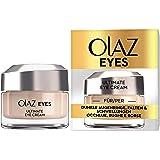 Olaz Eyes Ultimate Crema Contorno Occhi Tutto in 1, Idrata, Sgonfia e Illumina lo Sguardo, Ottima contro le Occhiaie e le Rug