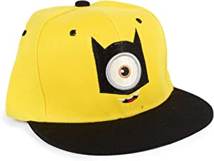 El Figo Merchandise Despicable Me/Minion Yellow Free Size Baseball Cap for Boys, Girls and Adults
