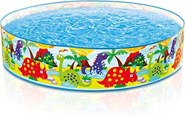 k t brothers Baby Pool Bath Water Tub for Kids, 4ftx10-inch (Multicolour)