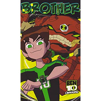 Ben 10 Alien Force Brother Birthday Card Amazon Toys Games