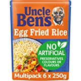 Uncle Bens Egg Fried Microwave Rice, Bulk Multipack 6 x 250 g pouches