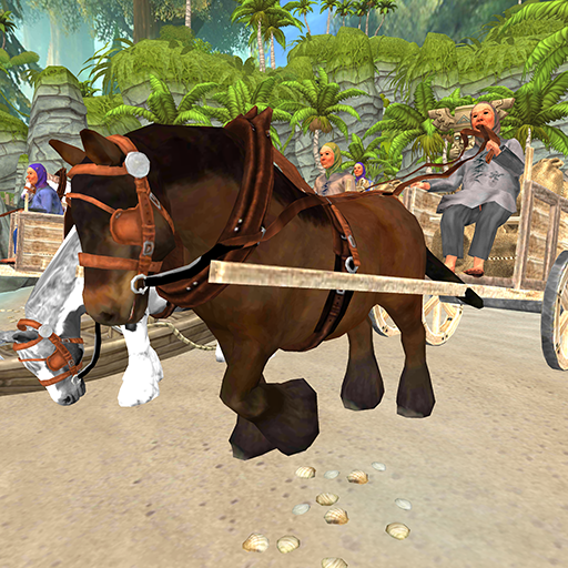 Horse Cart Racing Simulator:Defeat the Rival (Horse Racing Cart)