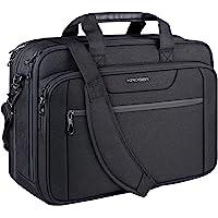 """KROSER 18"""" Laptop Tasche Erweiterbare Laptop-Aktentasche Passt bis zu 17,3 Zoll Laptop wasserdichte Umhängetasche für…"""