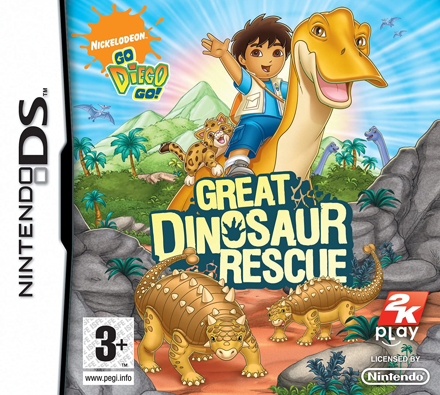 Go Diego Go Great Dinosaur Rescue Nintendo DS Amazoncouk PC