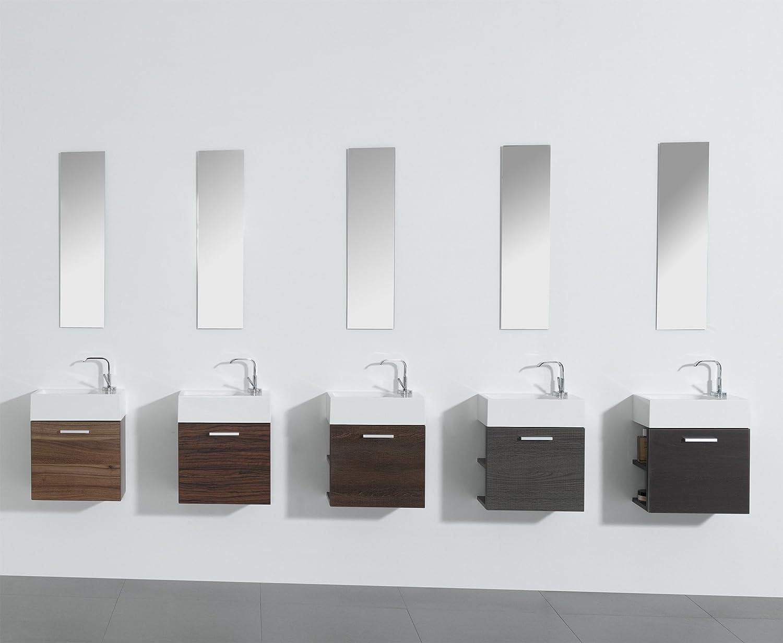 Badmöbel gäste wc  Gäste-WC Badmöbel Waschbecken mit Unterschrank und Ablagefächer ...