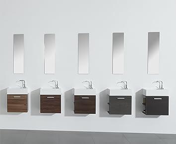 Waschtisch mit unterschrank gäste wc  Gäste-WC Badmöbel Waschbecken mit Unterschrank und Ablagefächer ...
