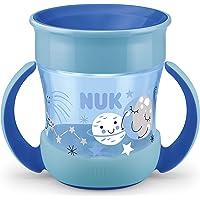 NUK Mini Magic Cup Night Trinklernbecher | auslaufsicherer 360°-Trinkrand | ab 6 Monaten | mit Leuchteffekt | praktische…