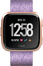 Fitbit Versa, Smartwatch con Funzione di Activity Tracker Unisex Adulto