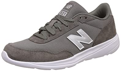 new balance leather shoes. new balance men\u0027s 321 v2 grey leather sneakers - 10 uk/india (44.5 eu shoes s