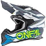 O'Neal 2Series RL MX Helm Slingshot blau Moto Cross Enduro Quad Offroad DH, 0200-04