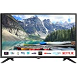 SHARP 1T C32BC3KH2FB 32 Inch Smart TV, HD Ready LED Display with Harman/Kardon Speakers, Dolby Digital Audio Decoder, 3 x HDM