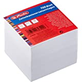 Herlitz 1603000 notitieblok reserve 9 x 9 cm, 700 vellen, wit