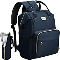 Cosyland Diaper Bag Backpack for Mom Multi-Function Travel Backpack Nappy Bags Large Capacity Maternity Bag with USB Charging Port Stroller Strap Wide Shoulder Strap Insulated Pockets Blue