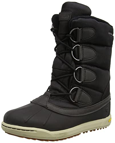 Hi-Tec Talia Shell 200 Wp, Bottes montantes mi-mollet à doublure chaude femme - Noir - noir (Black/Coal), 37