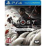 Sony, Ghost of Tsushima sur PS4, Jeu d'action et d'aventure, Édition Spéciale, Version physique, En français, 1 joueur, PEGI 18