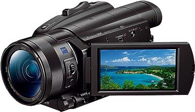 "Sony FDR-AX700 4K HDR Ultra-HD-Camcorder (1 Zoll Exmor RS Stacked Sensor, 3,5"" Touch-Display, 4K HDR Aufnahme, Fast-Hybrid Autofokus mit 273 Fokuspunkten, 40-Fach Super-Slow-Motion) schwarz"