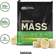 Optimum Nutrition Serious Mass, Vanilla 12 Lbs 2/Cs