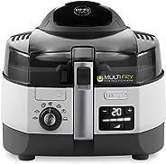 De'Longhi Multifry Extra Chef Low Oil Fryer Multicooker, Black, 1.7 kg, FH1394