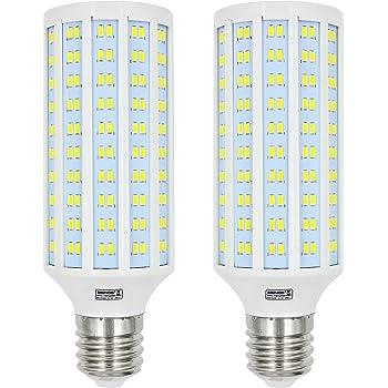 MENGS® 2 unidades E40 40 W Bombilla LED 280 X 5730 SMD Blanco frío 6500