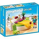 Playmobil - 5583 - Jeu De Construction - Chambre Avec Lit Rond
