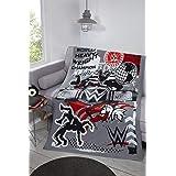 Coco Moon WWE World Heavy Weight Kids Fleece Blanket Genuine Wrestling Bedroom Merchandise