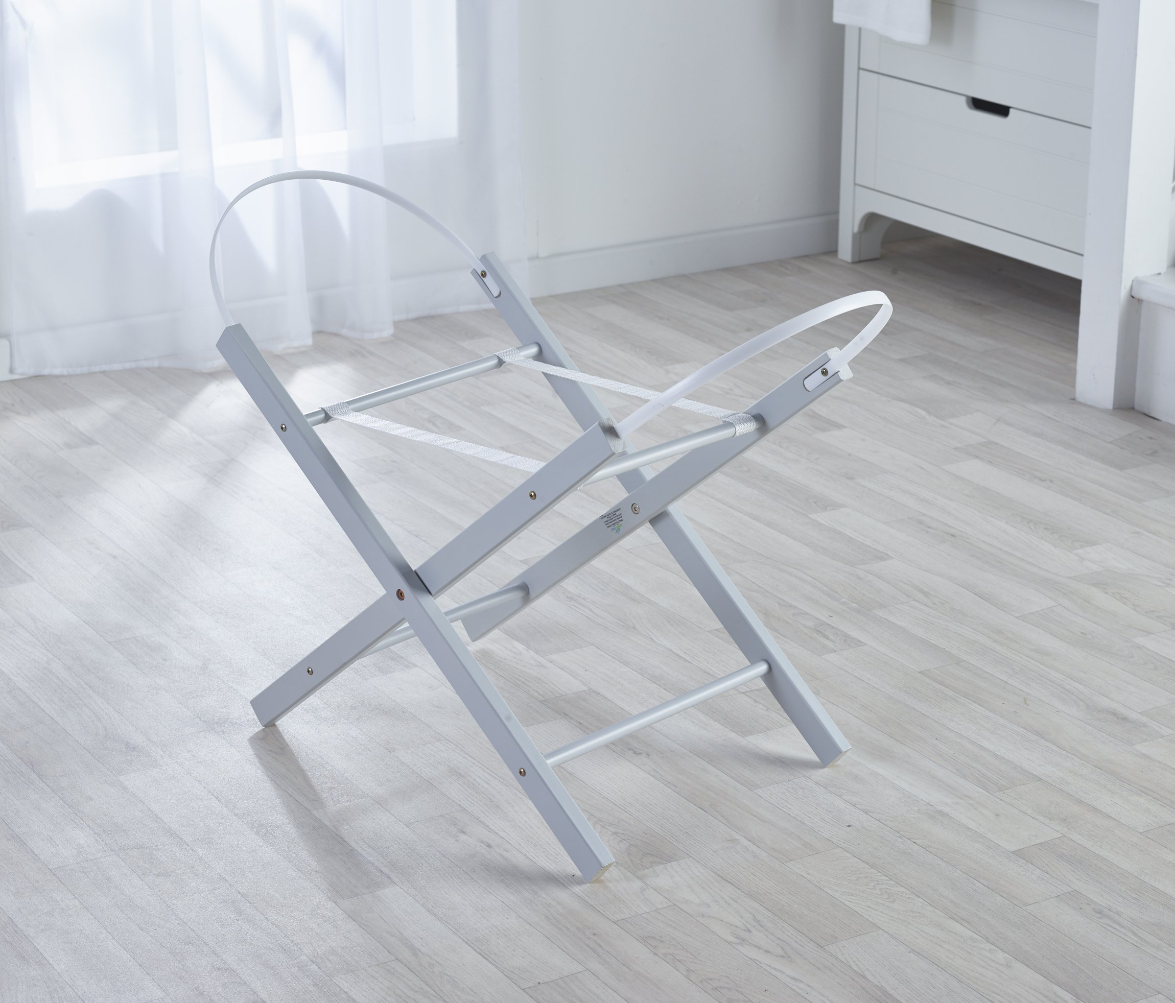 Kinder Valley Opal Folding Stand, Dove Grey Kinder Valley Easy folding for convenience This stand would look perfect with any kinder valley mosses basket or mosses basket pod Self assembly required. easy to set up, instructions and tool supplied 4