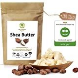 Grüne Valerie - Ivory Shea Butter - Kaltgepresst (Grad A+) pur & rein 250 g - frisch, unraffiniert - Das Beste vegane Hautpfl