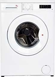 Hoover 7 Kg 1000 RPM 15 Programs Front Load Washing Machine, Made in Turkey, White - HWM-1007-W