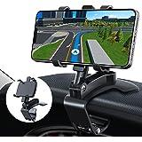 GESMA Supporto Cellulare Auto, Regolabile Porta Cellulare per Cruscotto e Parabrezza, 360 Gradi di Rotazione Universale Suppo