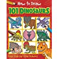 How to Draw 101 Dinosaurs - A Step By Step Drawing Guide for Kids