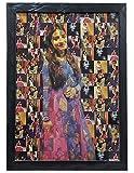 Chitransh Mosaic Personalised Photo Frame (14 x 20 inch, Multicolour)