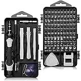 Precisie Schroevendraaier Set, 117 in 1 Magnetische Precision Bit Set voor iPhones, iPad, Huawei, Laptop, PC, MacBook, Camera