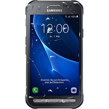 Samsung Galaxy Xcover 3 Smartphone (11,4cm (4,5 Zoll) Touch-Display, 8 GB Speicher, Android 6) dunkelgrau