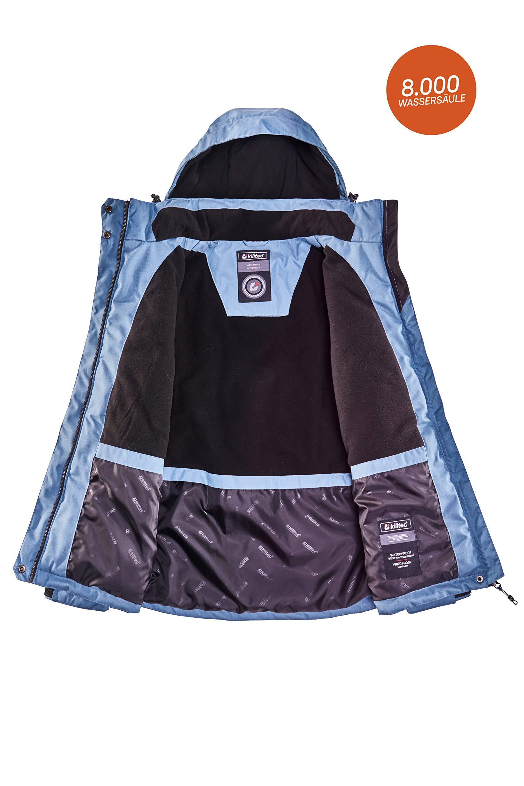 81xMhj049LL - killtec Women's Zala Functional Jacket with Zip-Off Hood