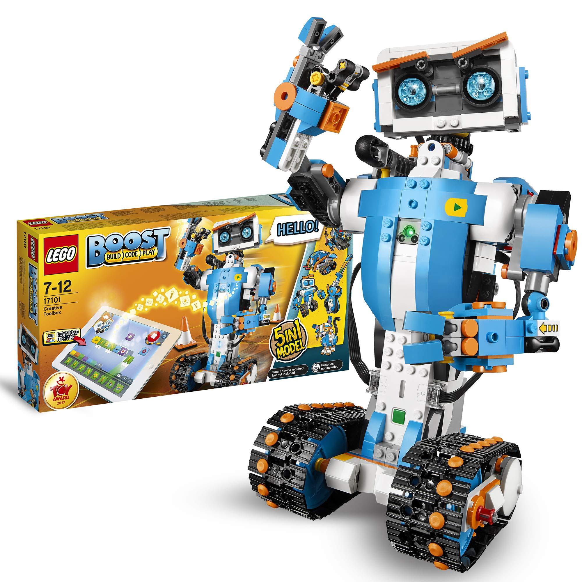 Construcción Con Factoría Caja De En Robot Para Herramientas Programar CreativasSet Y Ninjago Lego Jugar17101– Juguete 5 1 CderxBo