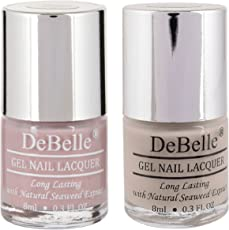 DeBelle Nail Polish Combo Set of 2(Pastel Purple & Nude)