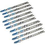 Bosch x-Pro Line STS / 2607010631 Coffret de lames pour scie sauteuse 10 pièces Métal