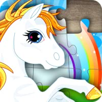 Farm Animal Jigsaw Puzzles for Kids, boys, girls and preschool toddlers - Free trial