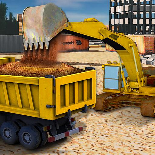 Sand Bagger Baumaschinen Sim
