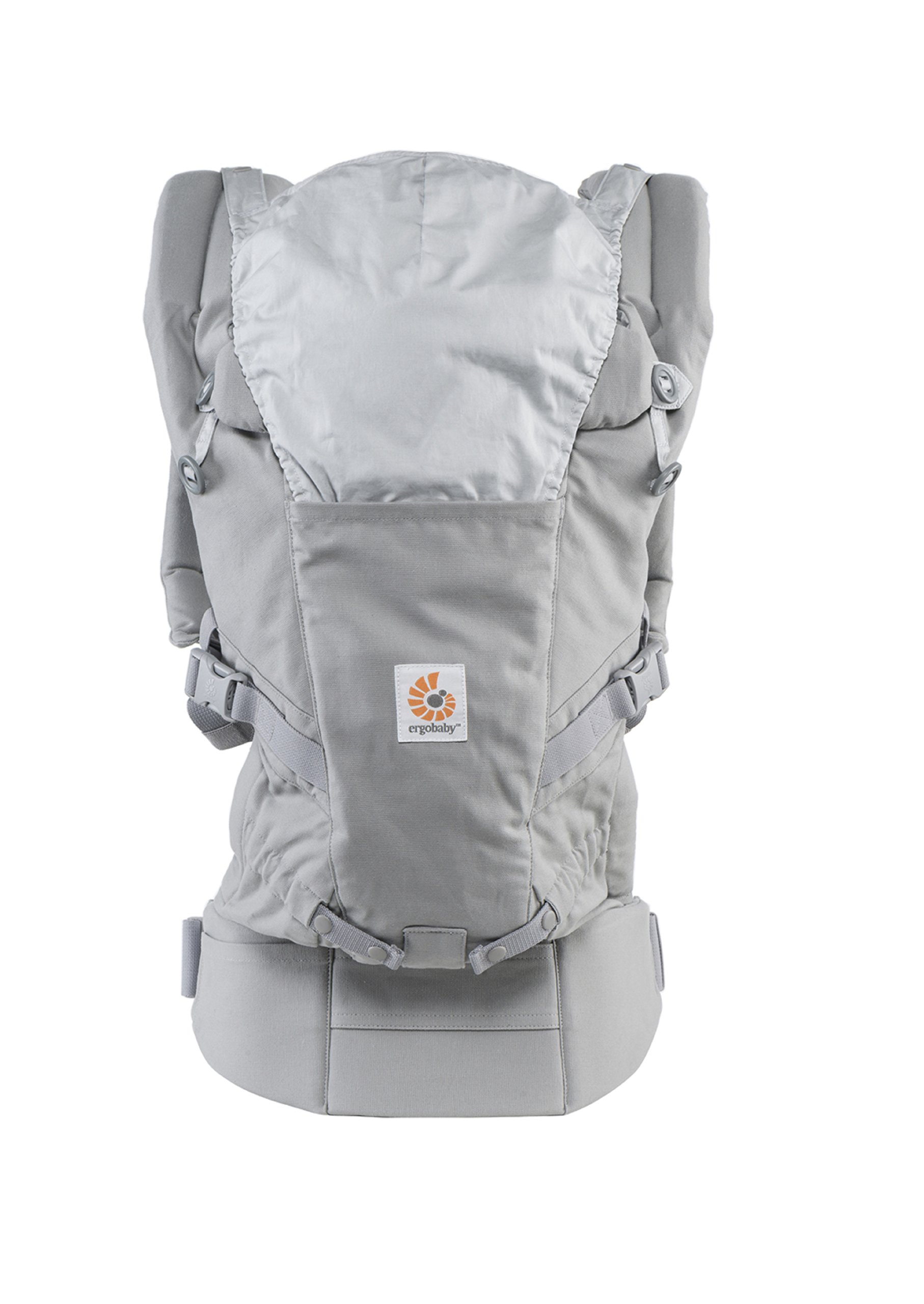ErgoBaby Adapt Baby Carrier Grey Ergobaby Adapt to Every Baby Easy. Adjustable. Newborn to toddler. 7