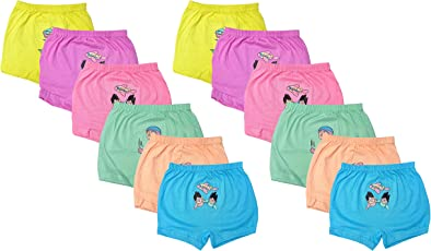 LUXCY Baby Boys' Panties (Multi-Coloured, Pack of 12)