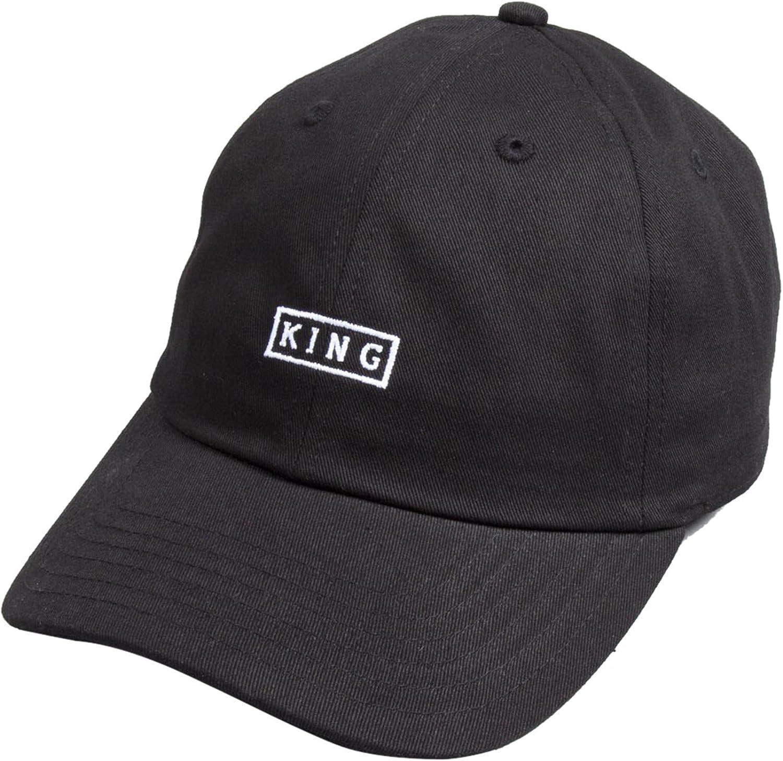 00dbaa1107b King Apparel Select Curved Peak Baseball Cap Black  Amazon.co.uk  Clothing