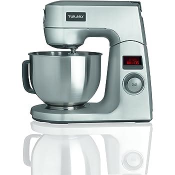 Turmix CX 950 Küchenmaschine (1200 Watt, 4.5 Liter) silber