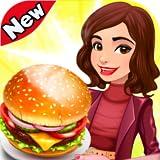 Cucinando Cibo Restaurant Giochi di Burger Febbre