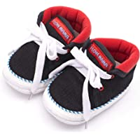 Infano Laces Style Love Print Baby Shoes New (6-12 Months,1 Pair)