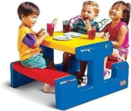 Little Tikes 479500070 - Piccolo tavolo da pic nic, colore: Multicolore